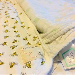 Baby Blanket Bundle Burt's Bees